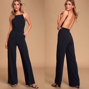 Lulus Something to Behold Wide Leg Jumpsuit